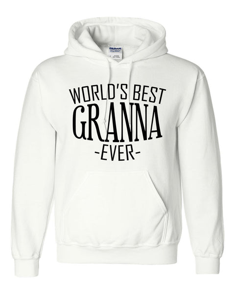 World's best granna ever hoodie family mother's day birthday christmas holiday gift ideas  best grandma  grandmother