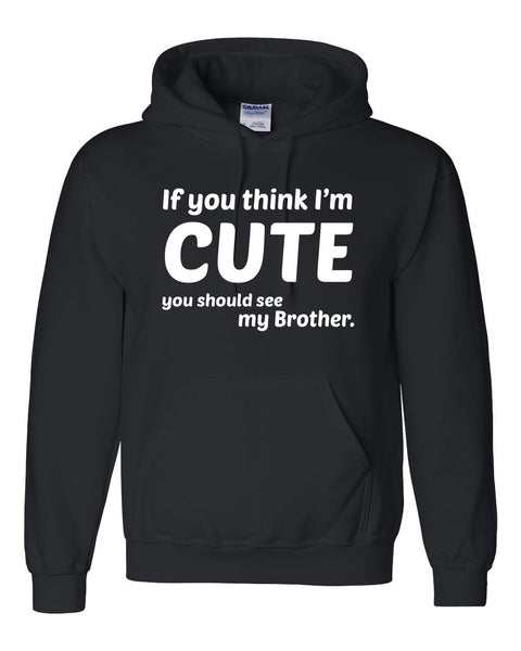 If you think I'm cute you should see my brother Hoodie