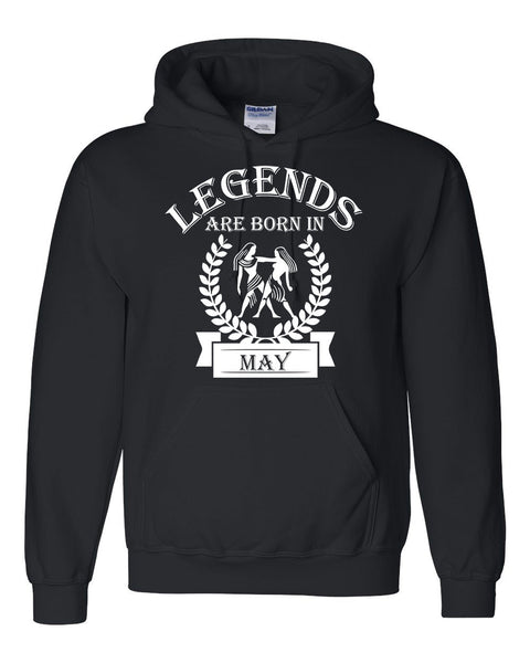 Legends are born in May hoodie, zodiac thing, birthday gift, astrology horoscope hoodie, for her, for him, gemini