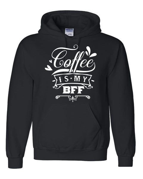 Coffee is my bff t shirt coffee lover hoodie morning person sweater cute outfit