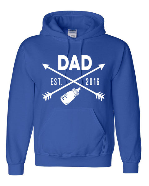 New Dad hoodie father's day  gift ideas for him best dad new daddy sweater