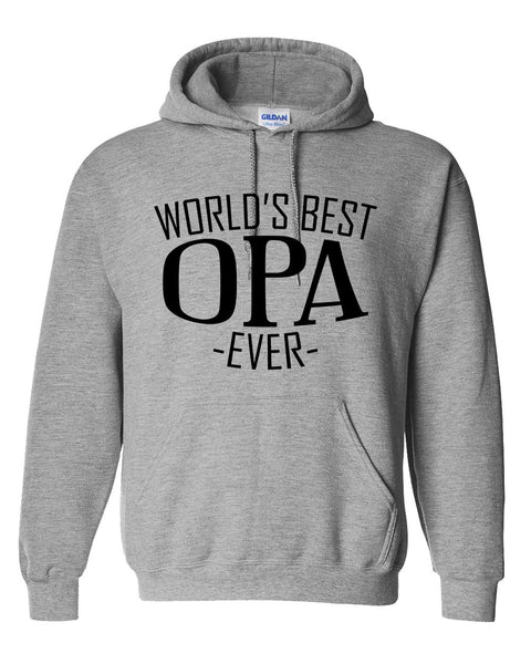 World's best opa ever hoodie family father's day birthday christmas holiday gift ideas  best grandpa  grandfather