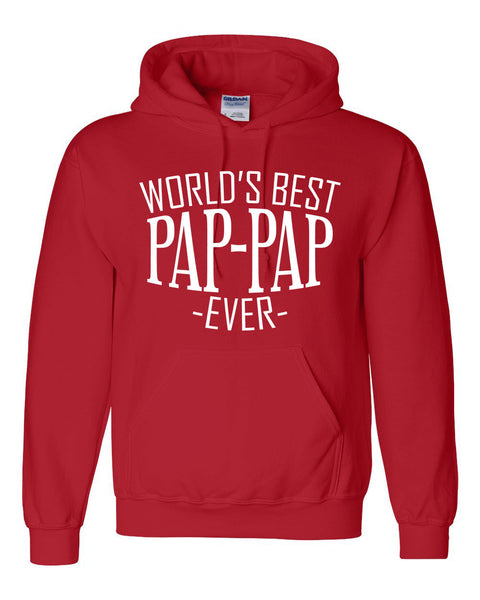 World's best pap pap ever hoodie family father's day birthday christmas holiday gift ideas  best grandpa  grandfather