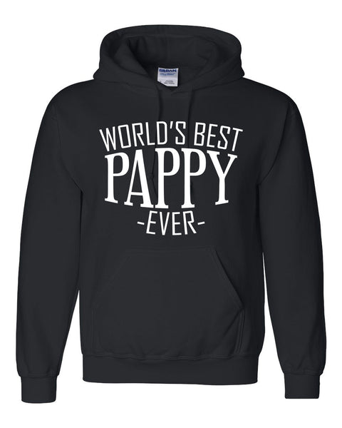 World's best pappy ever hoodie family father's day birthday christmas holiday gift ideas  best grandpa  grandfather