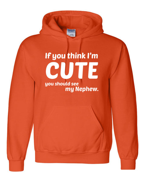 If you think I'm cute you should see my nephew Hoodie