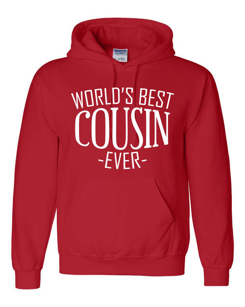 World's best cousin ever hoodie  birthday christmas holiday gift ideas for best cousin for him