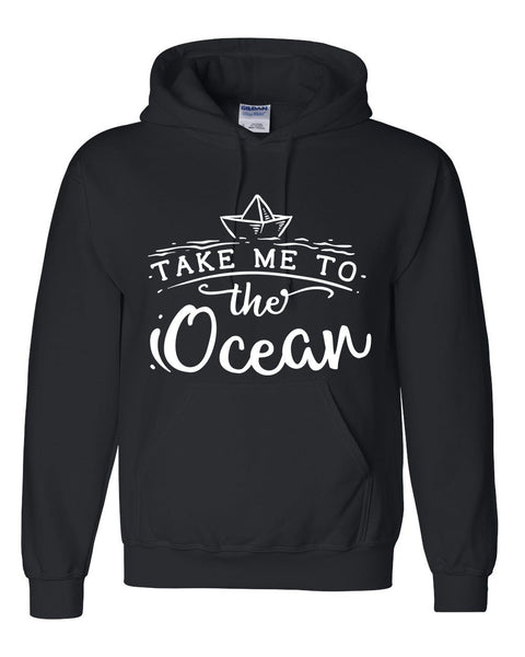 Take me to the ocean hoodie summer vacation graphic hoodie gift ideas for summer