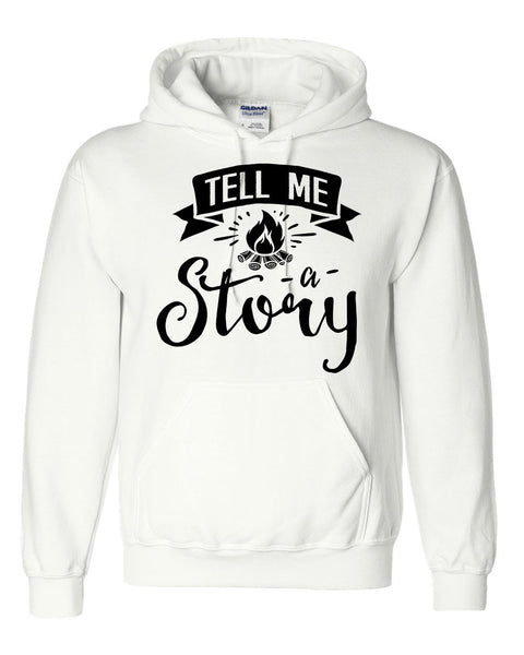 Tell me a story hoodie  funny cool cute humor gift ideas for him for her