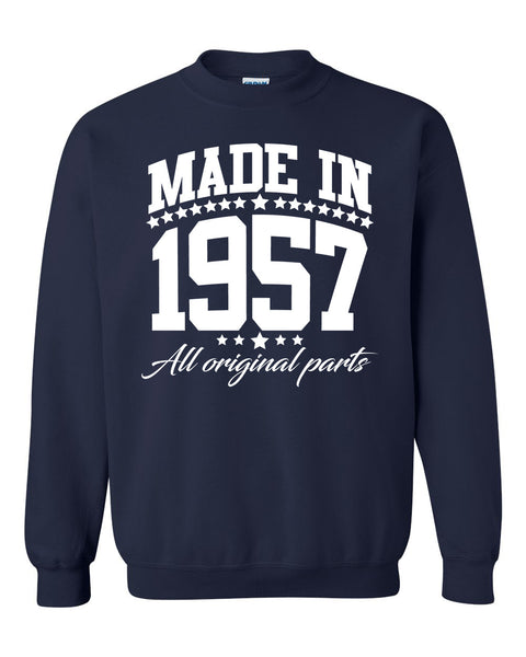 Made in 1957 all original parts Crewneck Sweatshirt