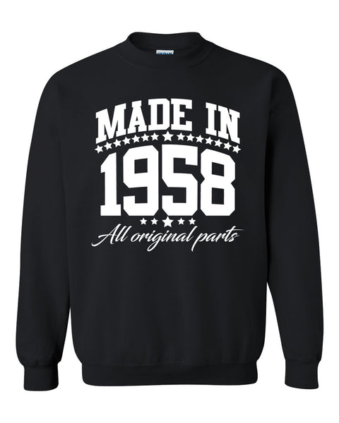 Made in 1958 all original parts Crewneck Sweatshirt