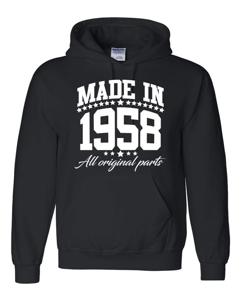 Made in 1958 all original parts Hoodie