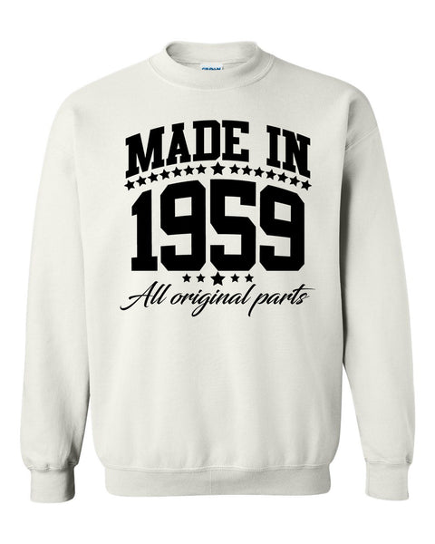 Made in 1959 all original parts Crewneck Sweatshirt