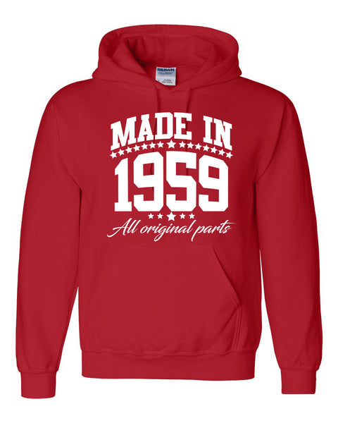 Made in 1959 all original parts Hoodie