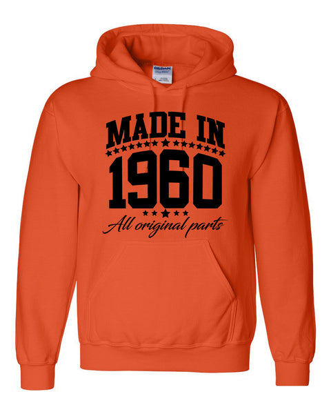 Made in 1960 all original parts Hoodie