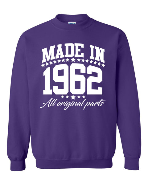 Made in 1962 all original parts Crewneck Sweatshirt