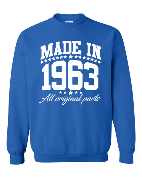 Made in 1963 all original parts Crewneck Sweatshirt