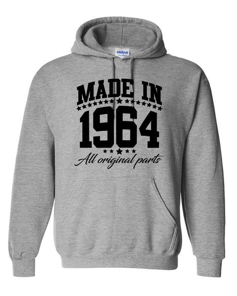 Made in 1964 all original parts Hoodie