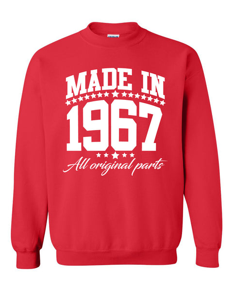 Made in 1967 all original parts Crewneck Sweatshirt