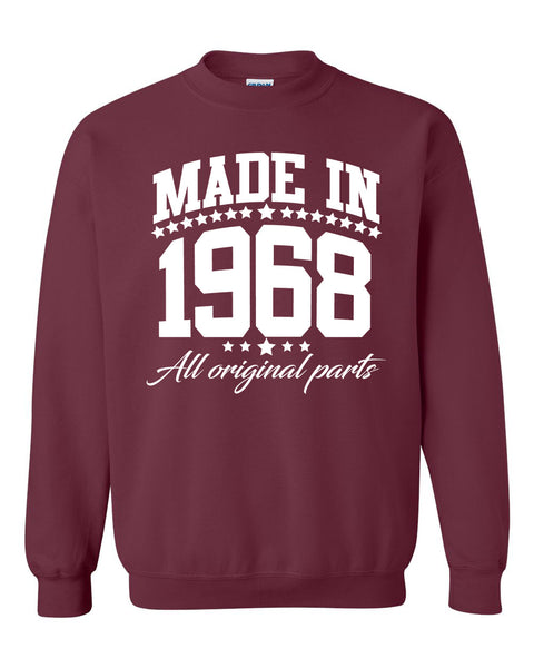 Made in 1968 all original parts Crewneck Sweatshirt