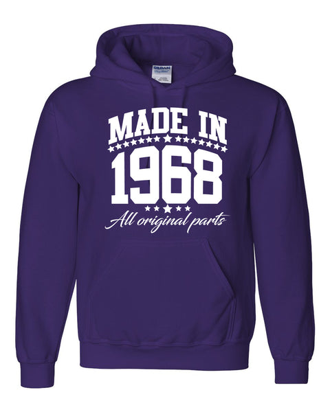 Made in 1968 all original parts Hoodie