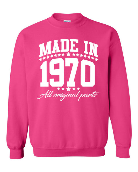 Made in 1970 all original parts Crewneck Sweatshirt
