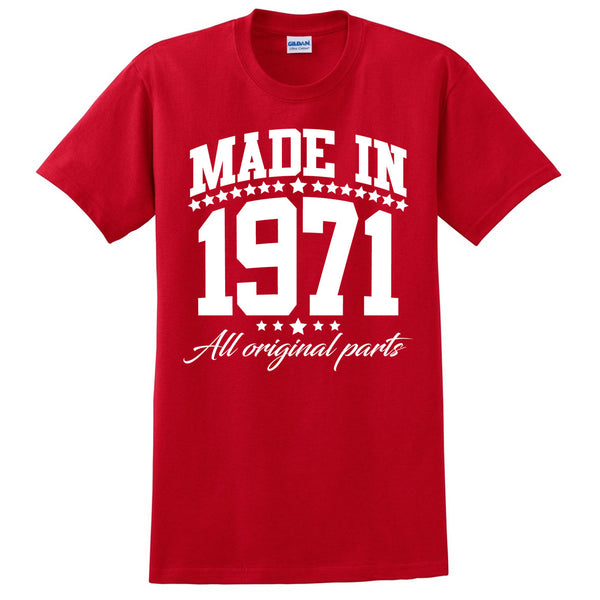 Made in 1971 all original parts T Shirt