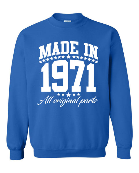 Made in 1971 all original parts Crewneck Sweatshirt