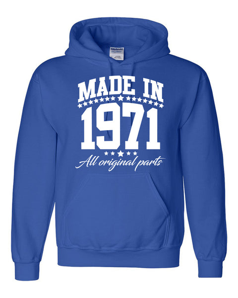 Made in 1971 all original parts Hoodie