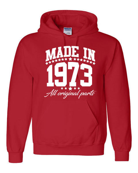 Made in 1973 all original parts Hoodie