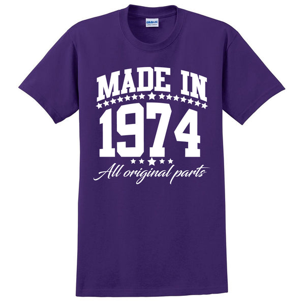 Made in 1974 all original parts T Shirt