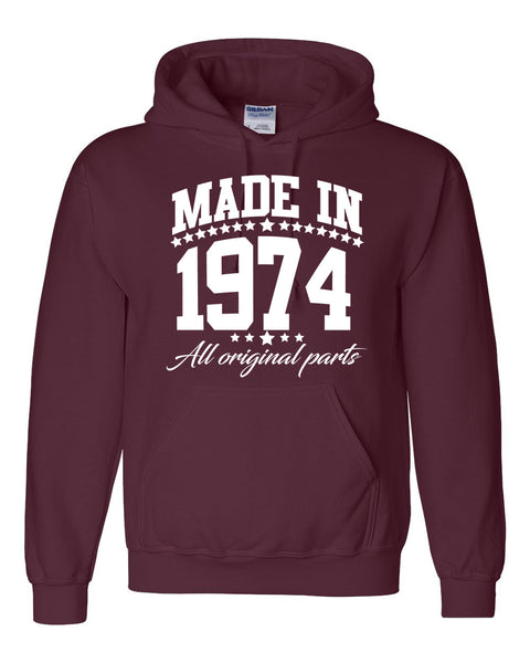 Made in 1974 all original parts Hoodie
