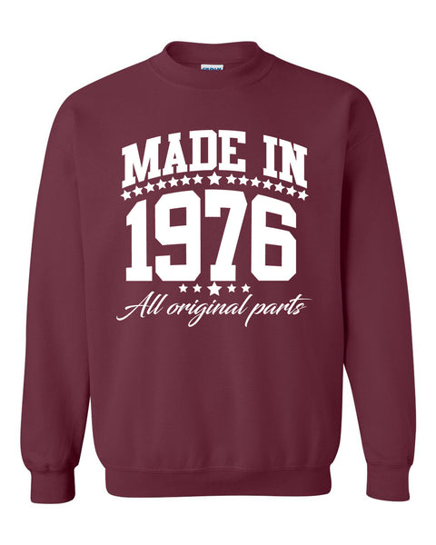 Made in 1976 all original parts Crewneck Sweatshirt