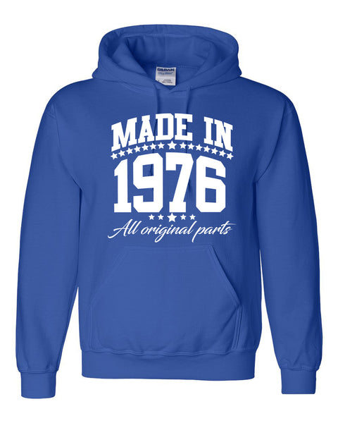 Made in 1976 all original parts Hoodie