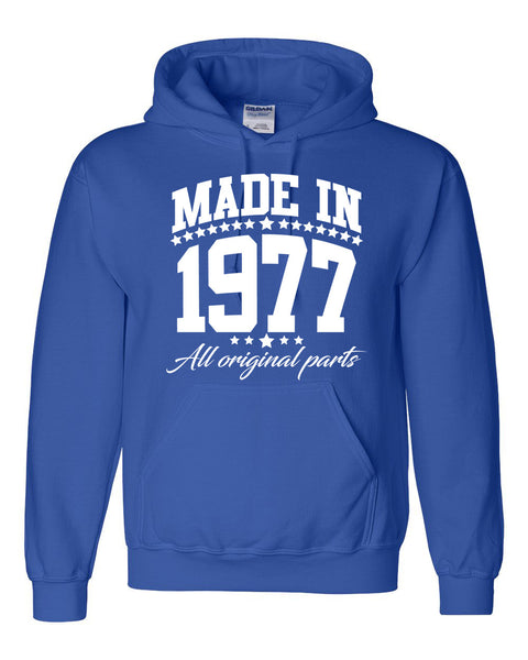 Made in 1977 all original parts Hoodie
