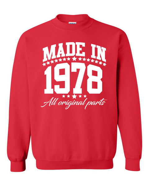 Made in 1978 all original parts Crewneck Sweatshirt