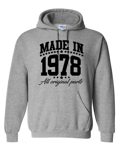 Made in 1978 all original parts Hoodie