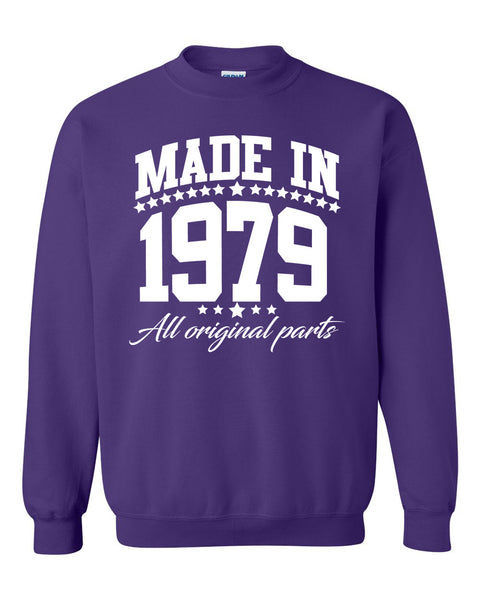 Made in 1979 all original parts Crewneck Sweatshirt