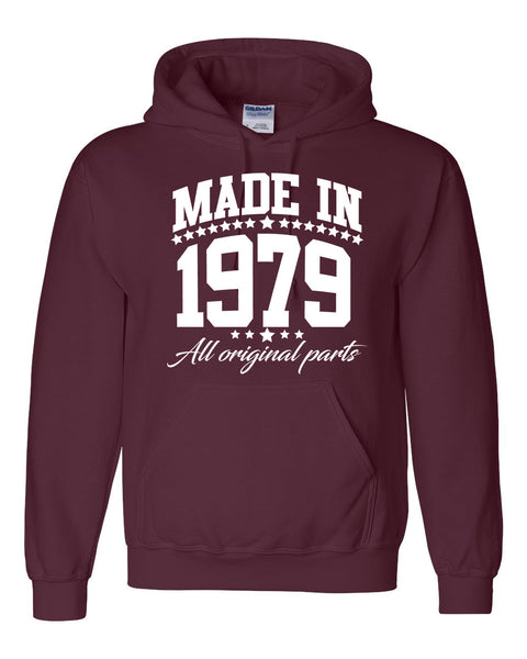 Made in 1979 all original parts Hoodie