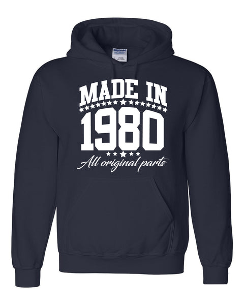 Made in 1980 all original parts Hoodie