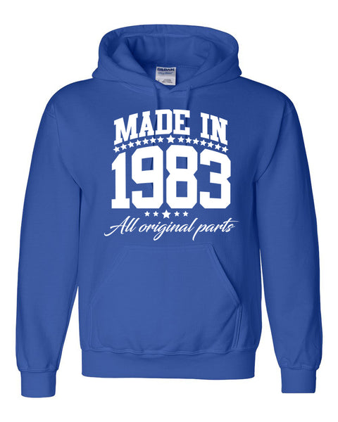 Made in 1983 all original parts Hoodie