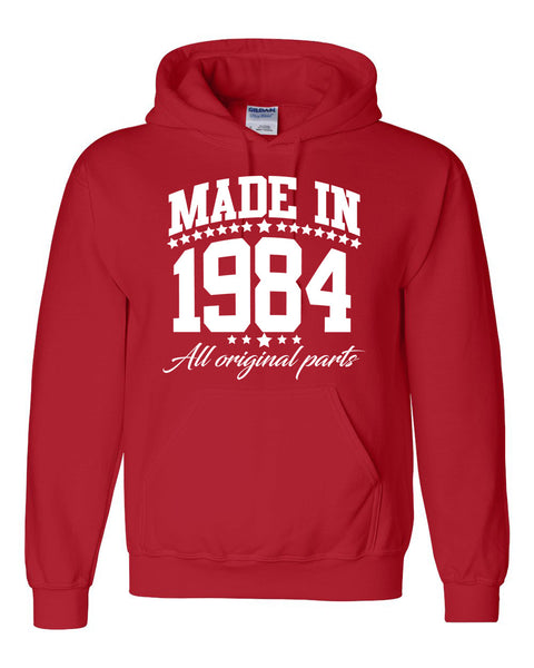 Made in 1984 all original parts Hoodie