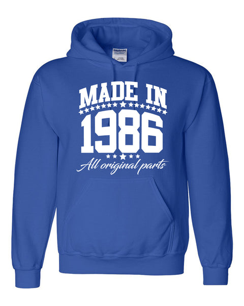 Made in 1986 all original parts Hoodie