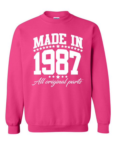 Made in 1987 all original parts Crewneck Sweatshirt