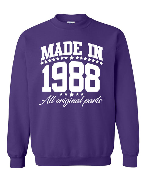 Made in 1988 all original parts Crewneck Sweatshirt