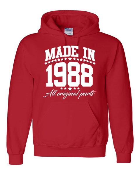Made in 1988 all original parts Hoodie