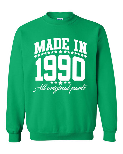 Made in 1990 all original parts Crewneck Sweatshirt