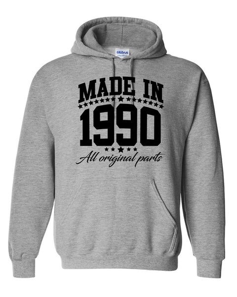 Made in 1990 all original parts Hoodie