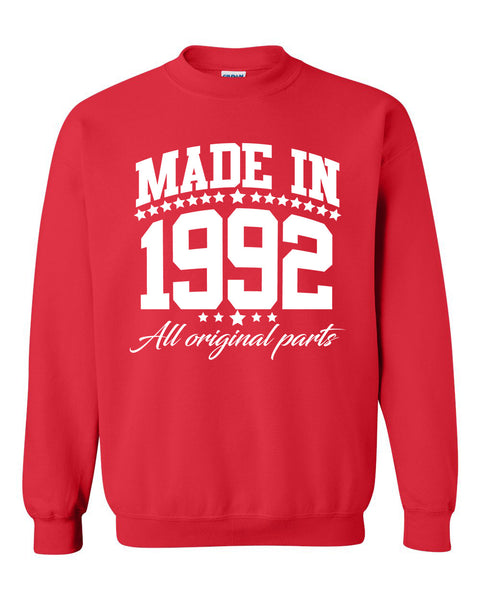 Made in 1992 all original parts Crewneck Sweatshirt