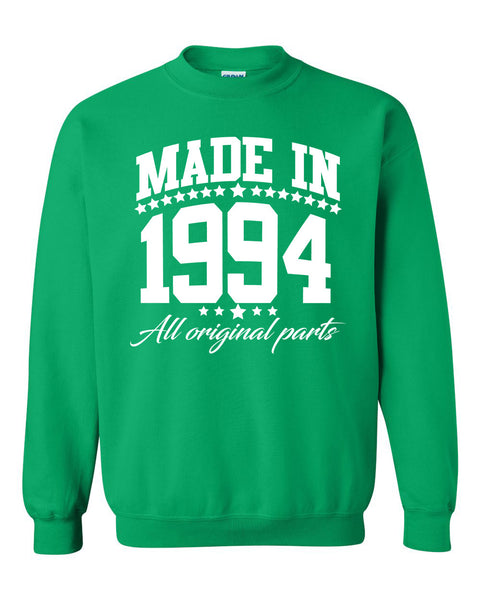 Made in 1994 all original parts Crewneck Sweatshirt