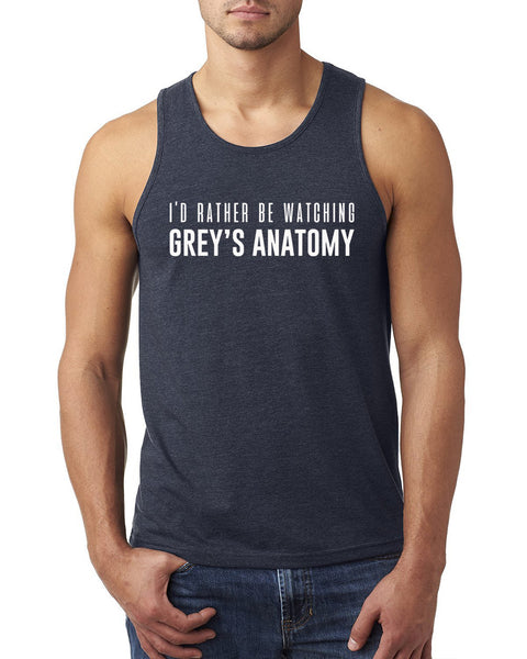 I'd rather be watching Grey's Anatomy Tank Top